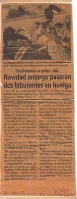 HUELGA DE HAMBRE